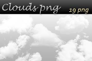 Clouds png pack