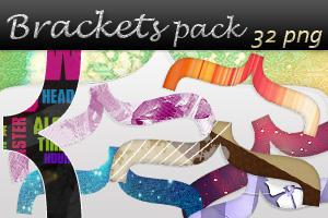 Brackets pack by AyameRD