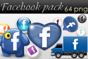 Facebook pack by AyameRD