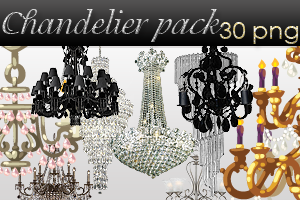 Chandelier pack by AyameRD