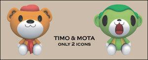 Timo and Mota by jeus