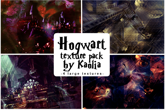 Hogwart texture pack by Kaolia by Kaolia