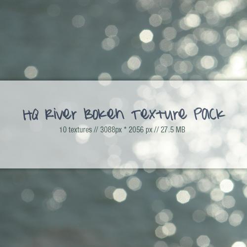HQ River Bokeh texture pack by myukiori