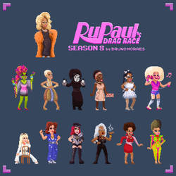 RuPaul's Drag Race: Season 8! by bbrunomoraes