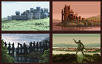 (Animated) Game of Thrones - Iconic scenery