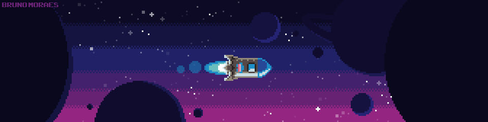 (Animated) Space Punch Rocket