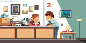 (Animated) Pam + Jim