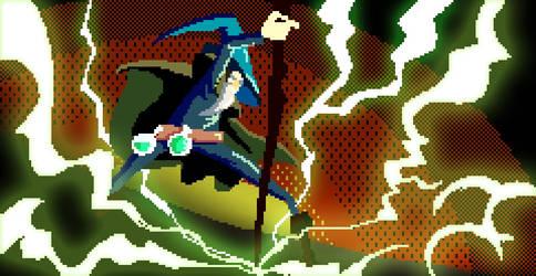 Wizard by elazinsu