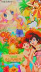 Kawaii Summer -Render Pack-