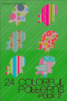 Colorful Patterns 2 by Thoxiic-Editions