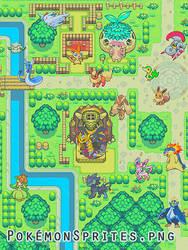 Free Pokemon Sprites