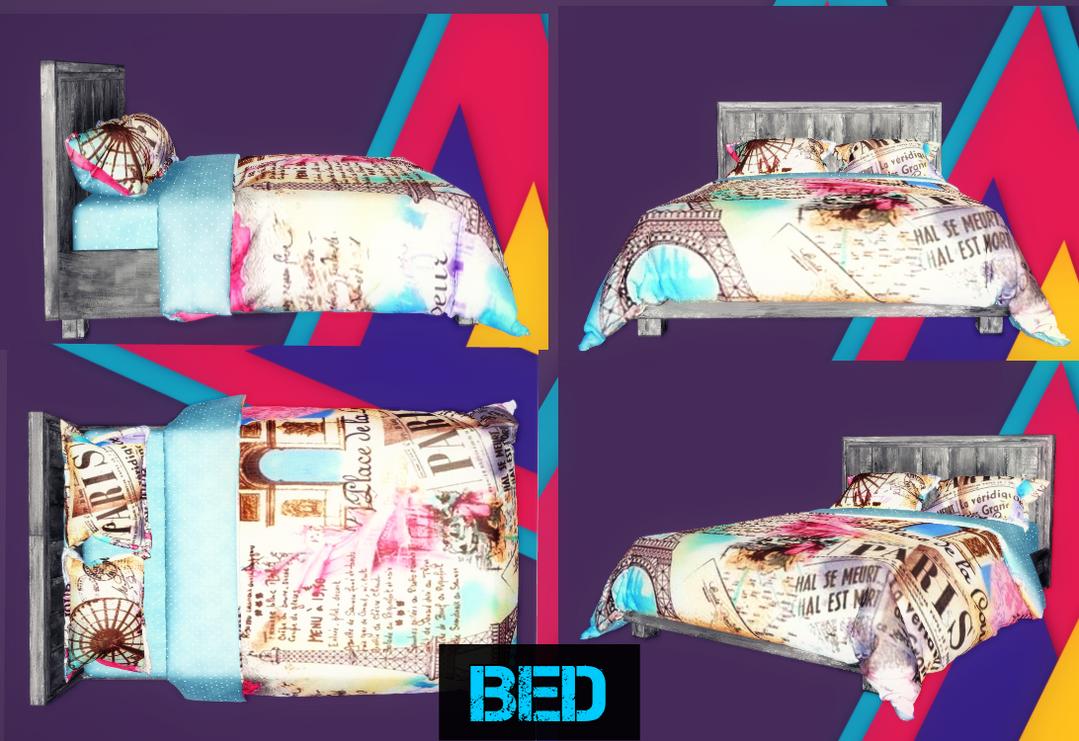 Bed-Set by RavenKiryu