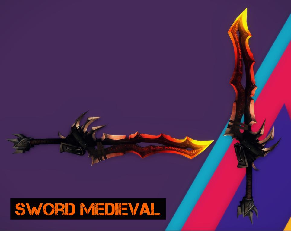 Sword Medieval by RavenKiryu