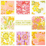 Floral patterns no. 1