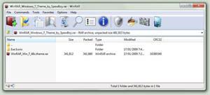 WinRAR Windows 7 Theme 48x