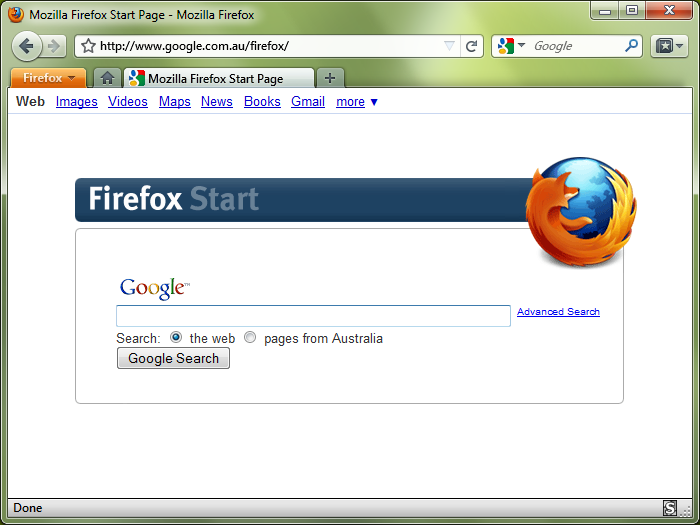 Windows 7 Firefox 4.0 Mockup Theme v0.6.2 full