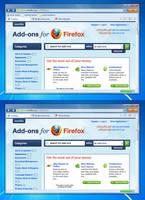 Stratum Fusion - Firefox Theme Mockup by muckSponge