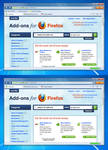 Stratum Fusion - Firefox Theme Mockup