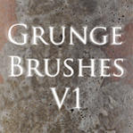 Grunge brushes V1 by Obscurity-Doll