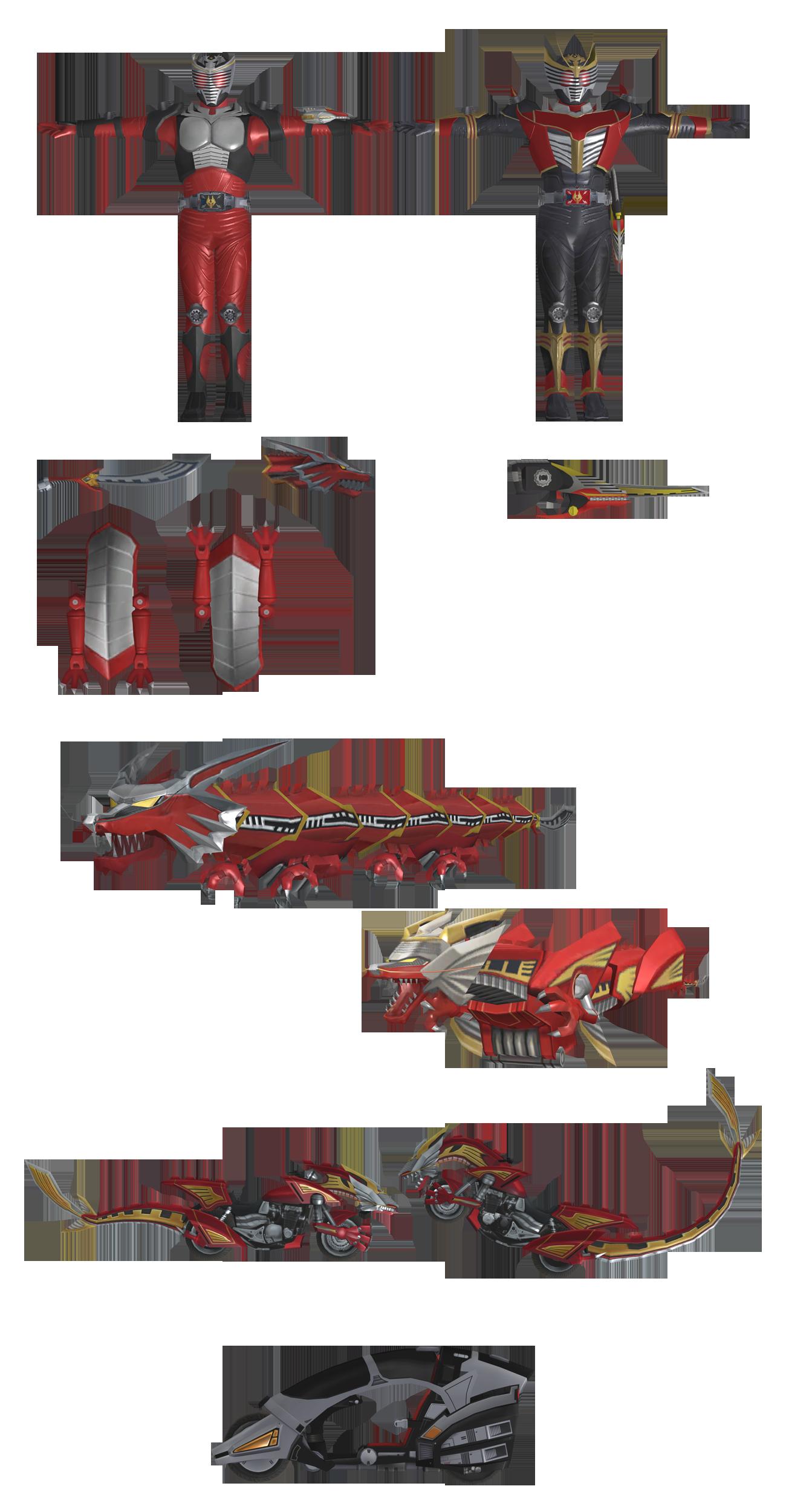 (Battride War Genesis) Kamen Rider Ryuki Pack