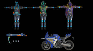 (Battride War Genesis) Kamen Rider Specter Pack