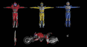 (Battride War Genesis) Kamen Rider Accel Pack