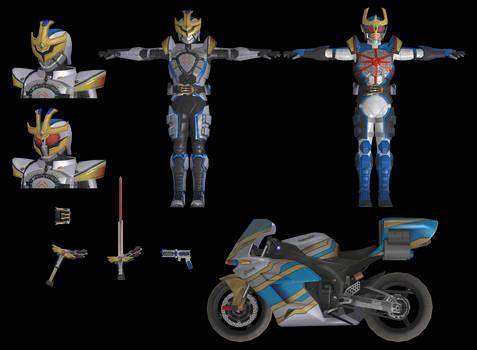 (Battride War Genesis) Kamen Rider IXA Pack