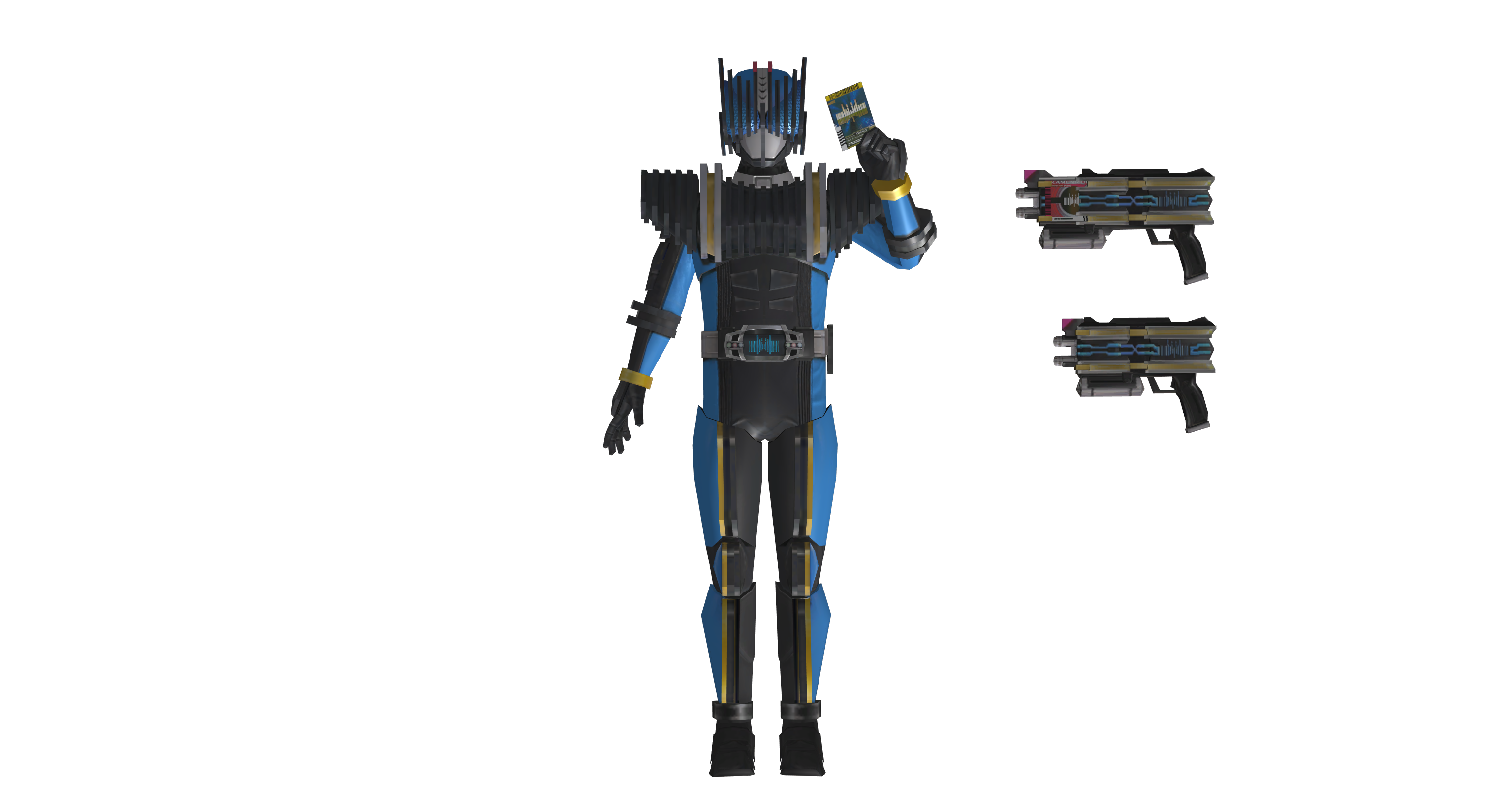 (Battride War Genesis) Kamen Rider Diend Pack by ...