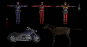 (Battride War Genesis) Kamen Rider Hibiki