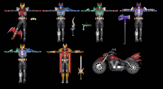 (Battride War Genesis) Kamen Rider Kiva Pack
