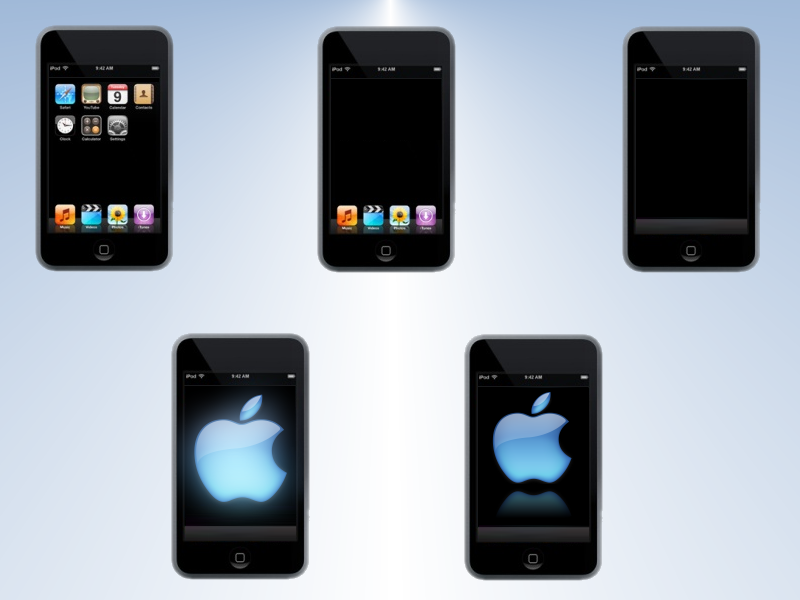 iPod Touch by EL1TE-PTG
