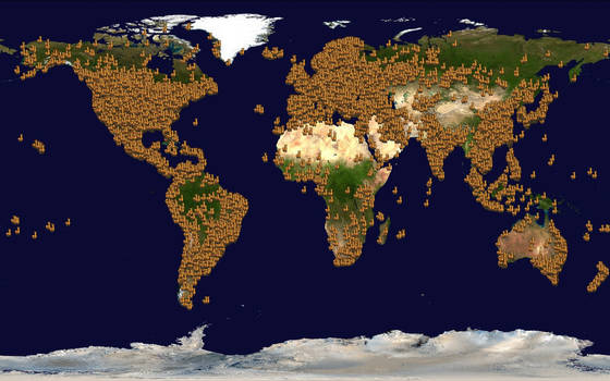 World llamap