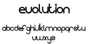 EVOLUTION font