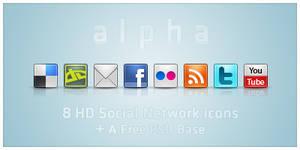 alpha icons