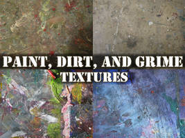 Paint, Dirt, and Grime Texture