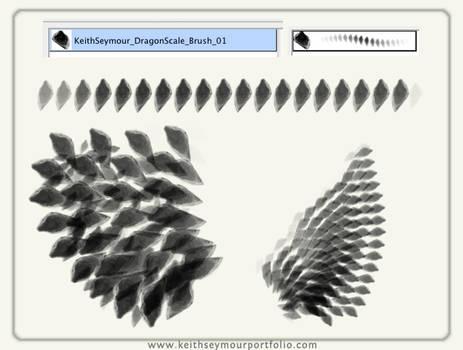 Dragon Scale custom brush by KeithSeymour