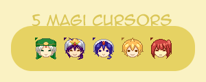 Cursor Set 04: Magi5 by shotafied