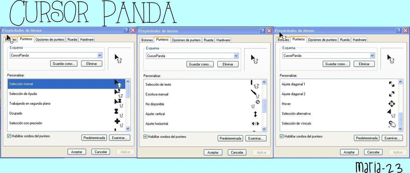 CursorPanda by maria-23