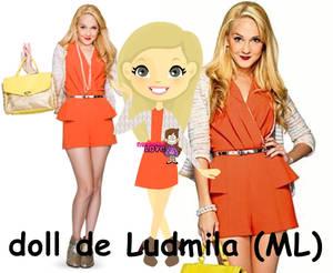 Doll de Mercedes Lambre (Ludmila)