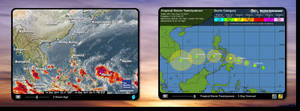 Typhoon Tracker - Western Pacific by Mordasius