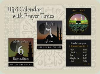Hijri Calendar / Prayer Times by Mordasius