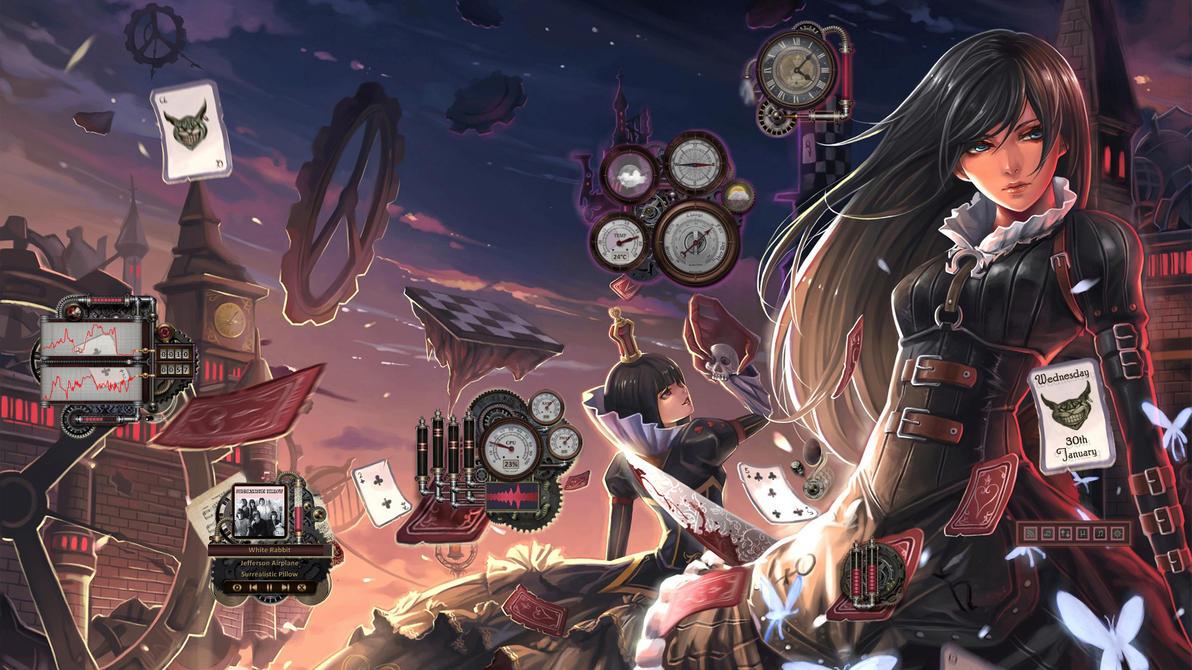 Alice-Reworked for Rainmeter by Mordasius