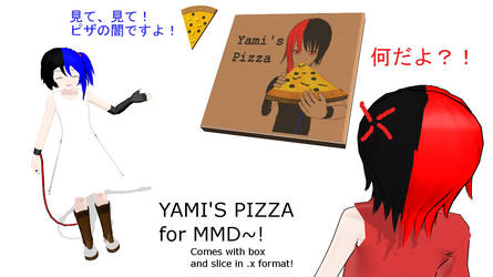 Yami's Pizza [+DL][Happy B-Day baby brother!]