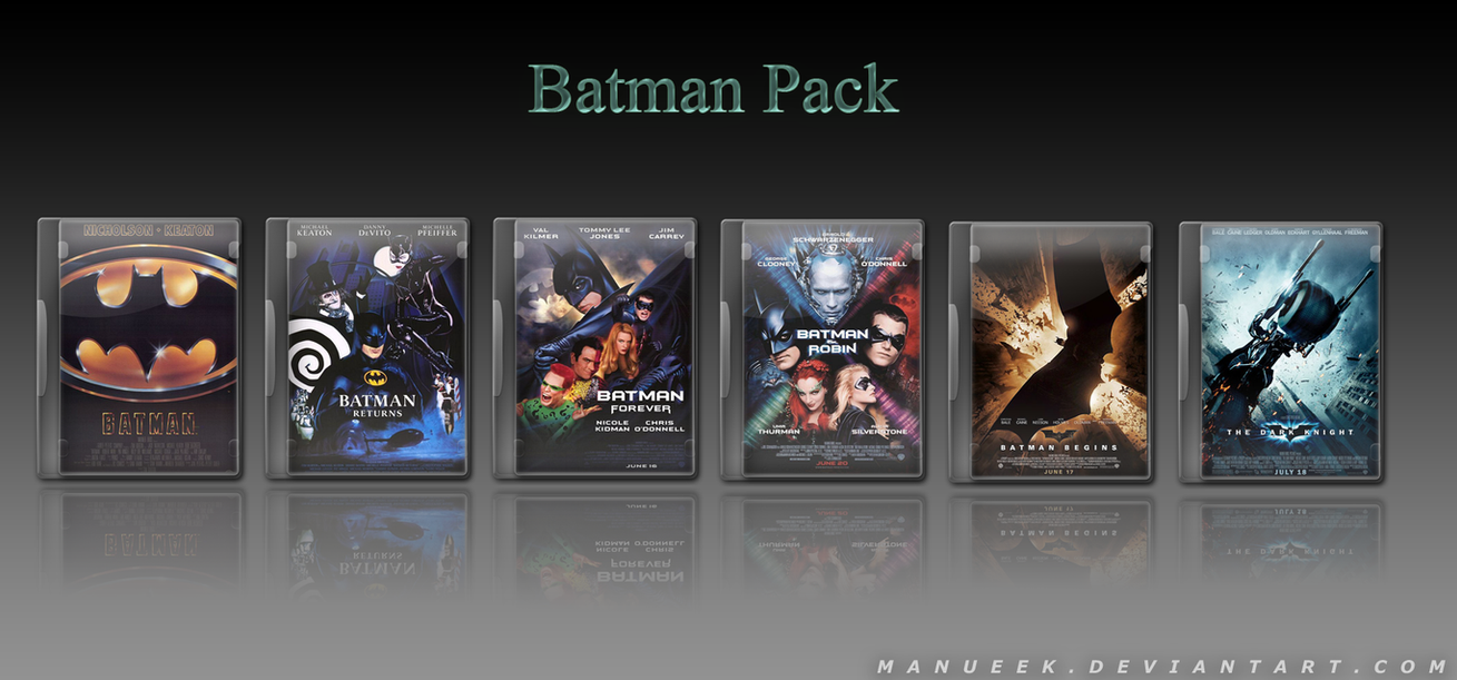 Batman Collection Pack by manueek