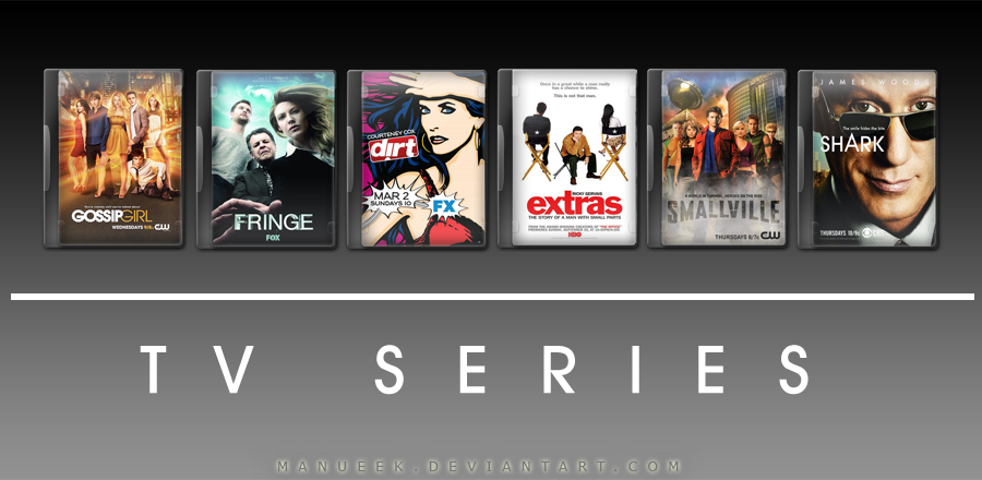 Tv show pack 3 by manueek on deviantart for Craft shows on tv