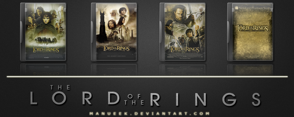 The Lord of The Rings Trilogy by manueek