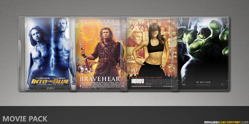 Movie DVD Icons 25 by manueek