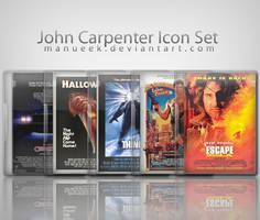 John Carpenter Icon Set