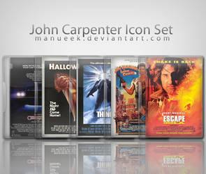 John Carpenter Icon Set by manueek