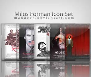 Milos Forman Icon Set by manueek